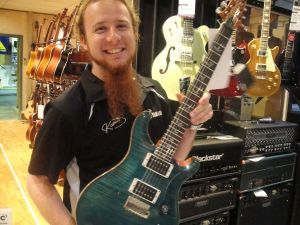 PRS Custom 24 With Shred Boy Chris Head