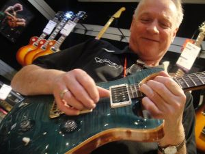 PRS CU24 Blue Crab Blue with Big Al