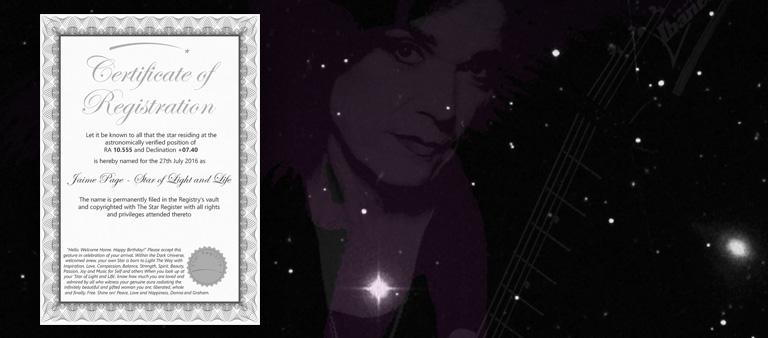 Jaime Page Star HD 94704